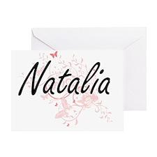 Cute Natalia Greeting Card