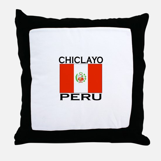 Chiclayo, Peru Throw Pillow