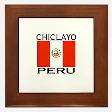 Chiclayo, Peru Framed Tile