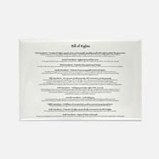 Bill of Rights Rectangle Magnet