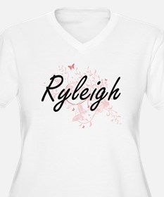 Ryleigh Artistic Name Design wit Plus Size T-Shirt
