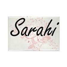 Sarahi Artistic Name Design with Butterfli Magnets