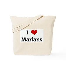 I Love Marfans Tote Bag