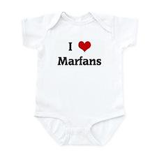 I Love Marfans Infant Bodysuit