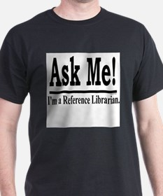 Funny Reference librarian T-Shirt