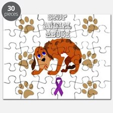 Stop Animal Abuse Awareness Puzzle