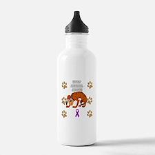 Stop Animal Abuse Awar Water Bottle