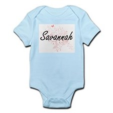 Savannah Artistic Name Design with Butte Body Suit