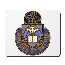 Army Chaplain Crest Mousepad
