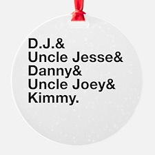 Everyone's Favorite Full Family Ornament