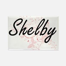 Shelby Artistic Name Design with Butterfli Magnets