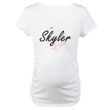 Skyler Artistic Name Design with Shirt