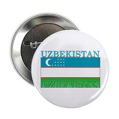 Uzbekistan Uzbek Flag 2.25