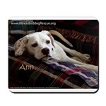 Pointer Ann on Couch Mousepad