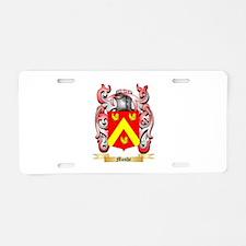 Moshe Aluminum License Plate