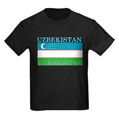 Uzbekistan Uzbek Flag T