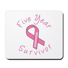 Five Year Survivor Mousepad