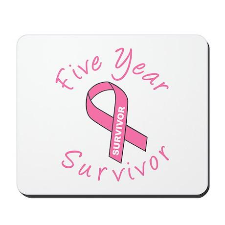 Five Year Survivor Mousepad