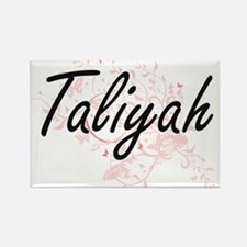 Taliyah Artistic Name Design with Butterfl Magnets