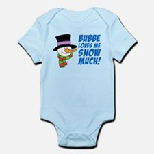 Bubbe Loves Me Snow Much Body Suit