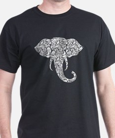 Lace Elephant T-Shirt