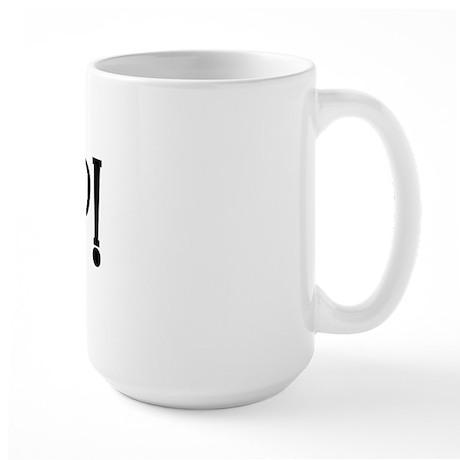 Meep Monkey Large Mug