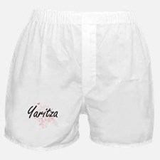 Yaritza Artistic Name Design with But Boxer Shorts
