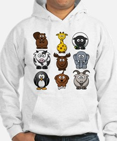 Animals cartoon Jumper Hoody