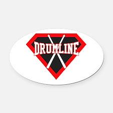 Super Drumline Oval Car Magnet