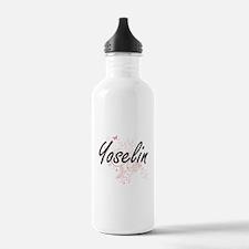 Yoselin Artistic Name Water Bottle