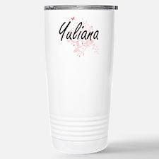 Yuliana Artistic Name D Travel Mug