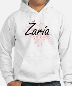 Zaria Artistic Name Design with Hoodie