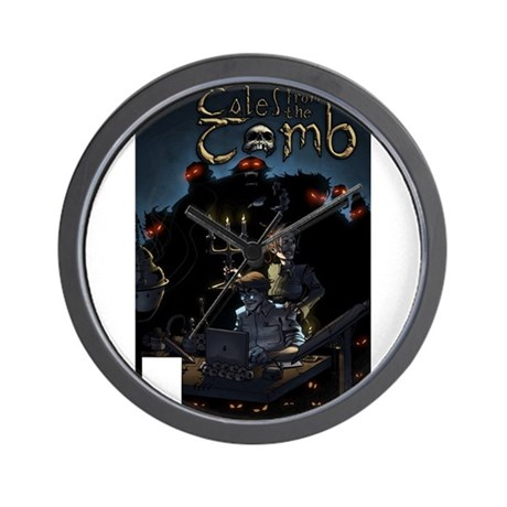 Tales From The Tomb Wall Clock