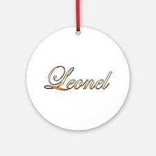 Cute Leonel Round Ornament