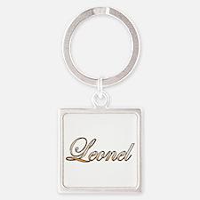 Cute Leonel Square Keychain