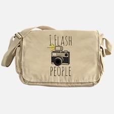 I Flash People - Photography Messenger Bag