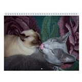 2017 russian blue cat Calendars
