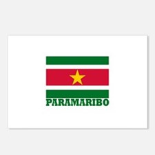 Paramaribo, Suriname Postcards (Package of 8)