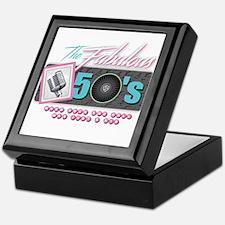 Fabulous 50s Keepsake Box