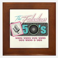 Fabulous 50s Framed Tile
