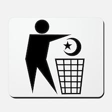 Trash Religion (Muslim Version) Mousepad