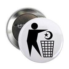 Trash Religion (Muslim Version) Button