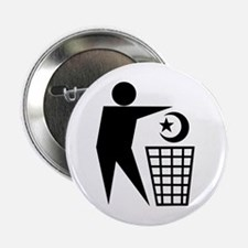 Trash Religion (Muslim Version) Button