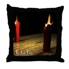 The lost flame - Throw Pillow