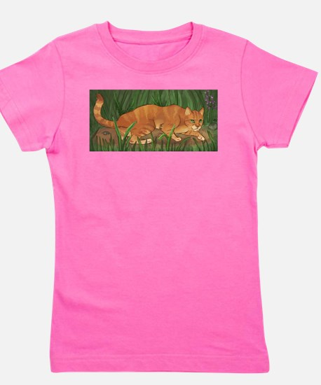 Funny Warrior cats Girl's Tee