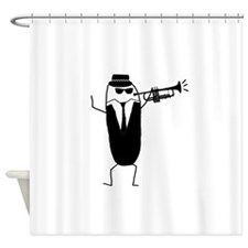 Rude Phil Shower Curtain