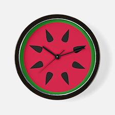 Cute Watermelon lovers Wall Clock