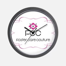 Foster Care Couture Wall Clock
