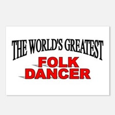 """The World's Greatest Folk Dancer"" Postcards (Pack"