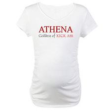 """""""Athena: Goddess of KICK ASS"""" Shirt"""